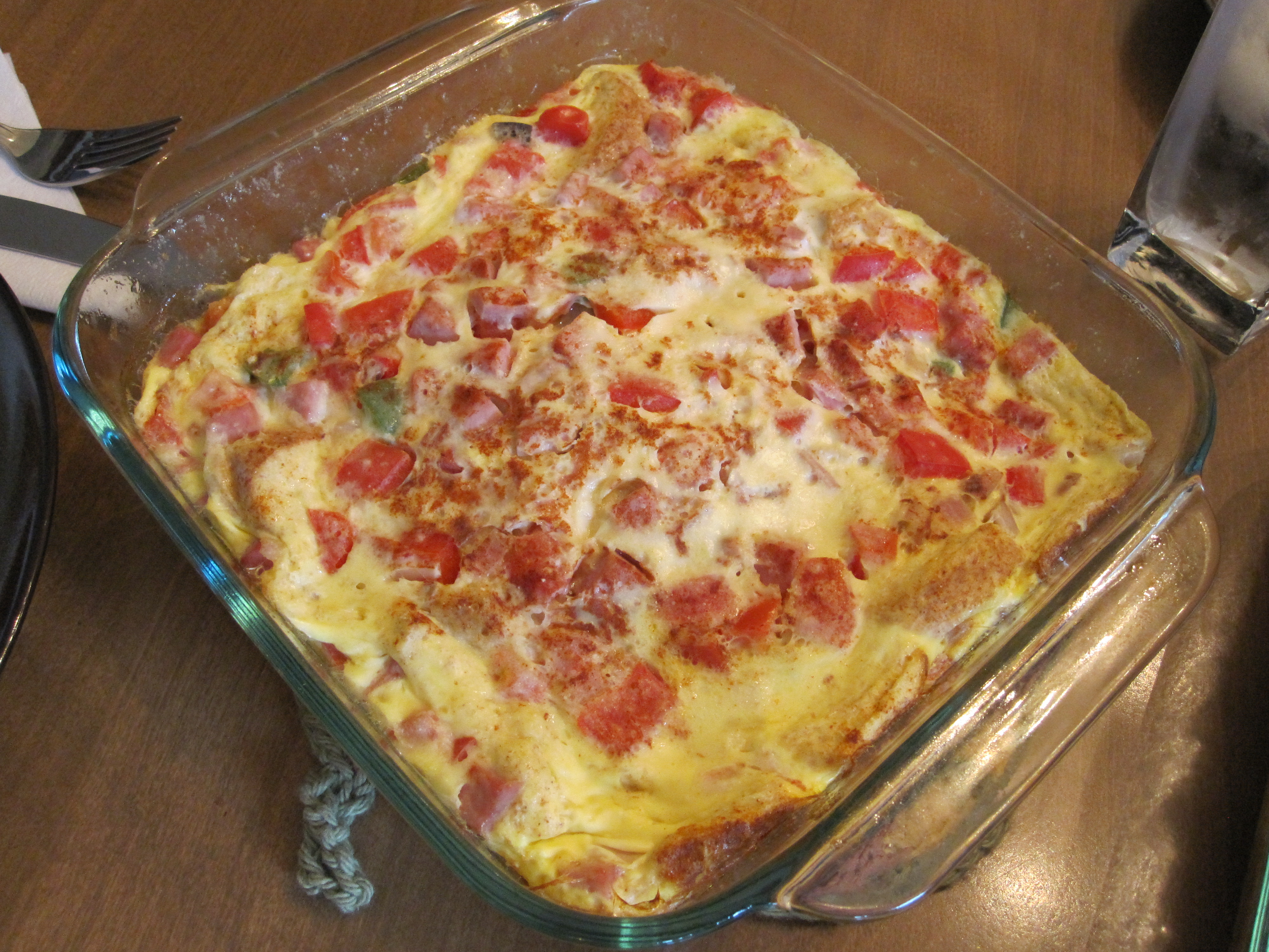 Overnight Egg And Cheese Strata Recipes — Dishmaps