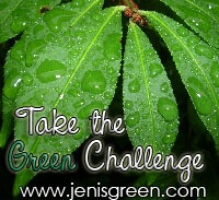 Jen is Green's Green challenge